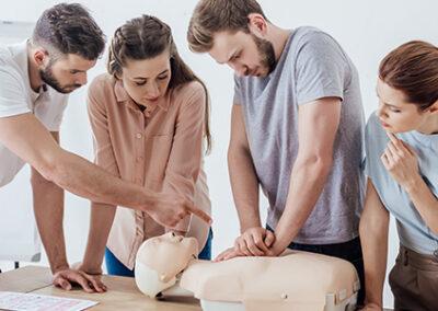RCR-01 – Cardio-Secours RCR/DEA, Soins immédiats en réanimation (SIR)
